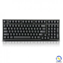 Bàn phím cơ Leopold FC980M PD Black Brown switch