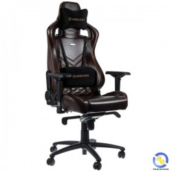 Ghế Noblechairs EPIC Series Real Leather Brown Beige
