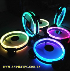 Fan case COOLMAN SUNSHINE RGB - 2 vòng riing (pack 5 fan)