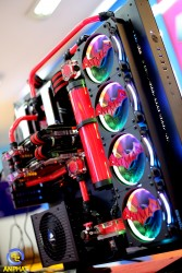 MODDING - WATER COOLING CORE P5 BATMAN RED
