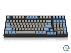 Bàn phím cơ Leopold FC980M PD Blue Grey Red switch