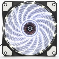 Fan case Coolman 12cm 15 led WHITE