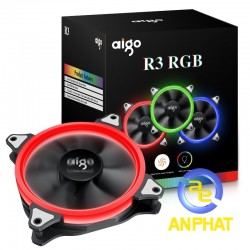 Fan case 12cm aigo R3  - bộ 3 fan AIGO R3 (3PCS/PACK)