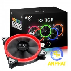 Fan case 12cm aigo R5  - bộ 5 fan AIGO R5 RGB