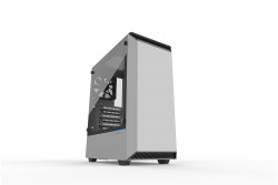 Vỏ case PHANTEKS ECLIPSE P300 TEMPERED GLASS WHITE RGB