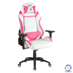 Ghế game Alpha Gamer GAMMA White Pink