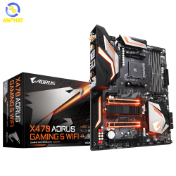 Mainboard GIGABYTE X470 AORUS GAMING 5 WIFI Socket AM4 ATX