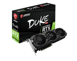 VGA MSI GeForce RTX 2080 DUKE 8G OC GDDR6