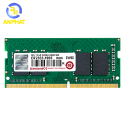 Ram Laptop Transcend 4GB DDR4 2400MHz SO-DIMM (JM2400HSH-4G)