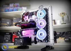 MODDING APC - THERMALTAKE CORE P3 WATER CUSTOM RGB PC-01