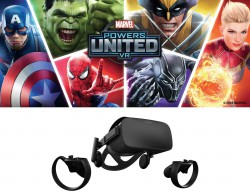 Kính thực tế ảo Oculus CV1 Marvel Powers United VR RIFT + Touch (Limited Edition)