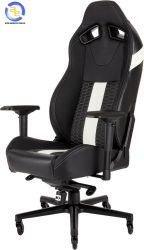 Ghế game Corsair T2 ROAD WARRIOR Black White
