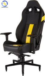 Ghế game Corsair T2 ROAD WARRIOR Black Yellow