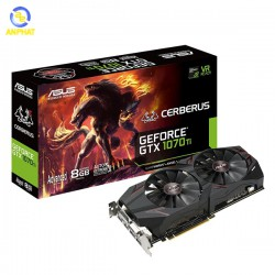 VGA ASUS Cerberus GeForce GTX 1070Ti 8GB Advanced Edition (CERBERUS-GTX1070TI-A8G)