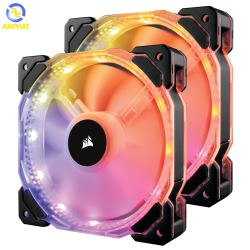 Fan Corsair HD140 RGB LED (Dual Fans With Controller) CO-9050069-WW