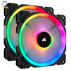 Fan Corsair LL140 RGB 2 Fan Pack with Lighting Node PRO CO-9050074-WW