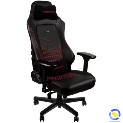 Ghế Noblechairs HERO Series Real Leather Black Red