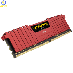 Ram Corsair Vengeance LPX 8GB (1x8GB) DDR4 DRAM 2666MHz C16 Red