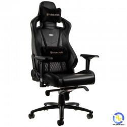 Ghế Noblechairs EPIC Series Real Leather Black