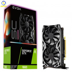 VGA EVGA GeForce GTX 1660 6GB GDDR5 SC ULTRA GAMING