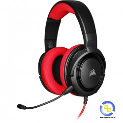 Tai nghe Corsair HS35 Stereo Red
