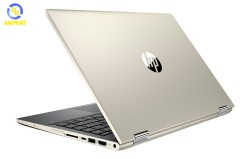 Laptop HP Pavilion x360 14-dh0103TU 6ZF24PA (Gold)