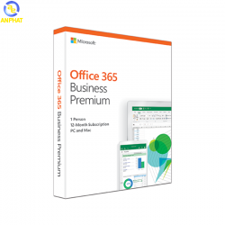 Microsoft Office 365 Business Premium (KLQ-00429) (Win/Mac) – FULL PACK BOX
