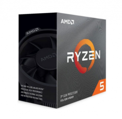 CPU AMD Ryzen 5 3500 3.6 GHz (4.1 GHz with boost) / 16MB cache / 6 cores 6 threads / socket AM4 / 65W / Wraith Stealth Cooler / No Integrated Graphics