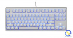 Bàn phím cơ E-DRA EK387 Ice White Brown switch