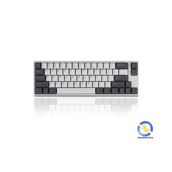 Bàn phím cơ Leopold FC660M PD White DarkGray Red switch