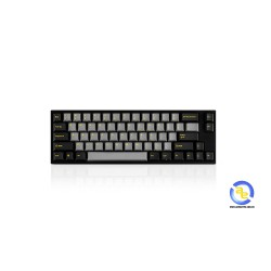 Bàn phím cơ Leopold FC660M PD Ash Yellow Red switch