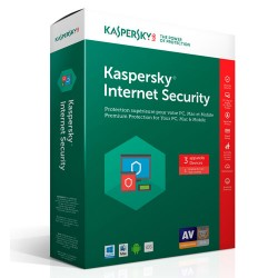 Phần mềm diệt virus Kaspersky Internet Security (KIS) (3 User)