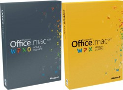 Office MAC Home Business 1PK 2011 DVD (W6F-00063)