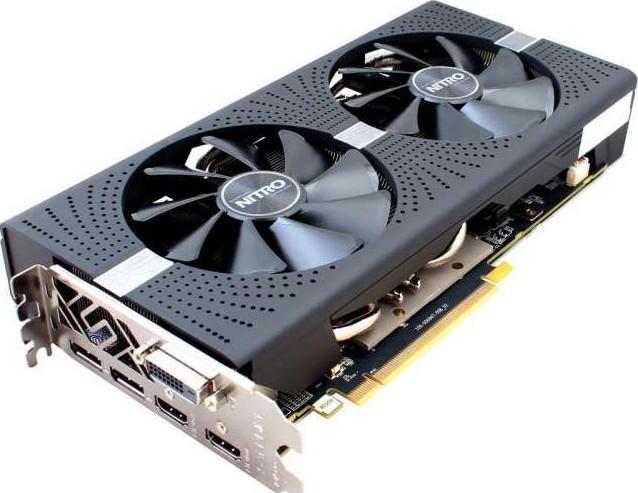 VGA Sapphire Nitro+ RX580 4G DDR5 256bit