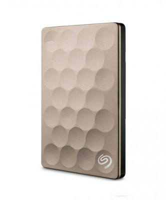 Ổ cứng di động Seagate Backup Plus Portable 1TB Ultra Slim Gold (STEH1000301)