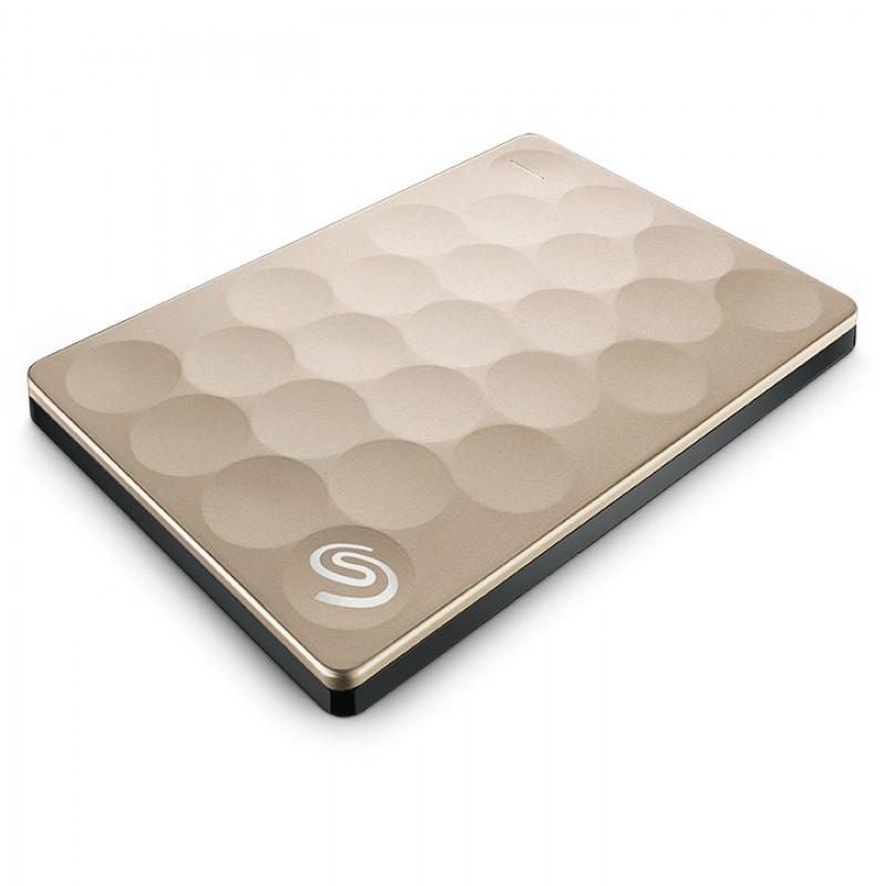 Ổ cứng di động Seagate Backup Plus Portable 2TB Ultra Slim Gold (STEH2000301)