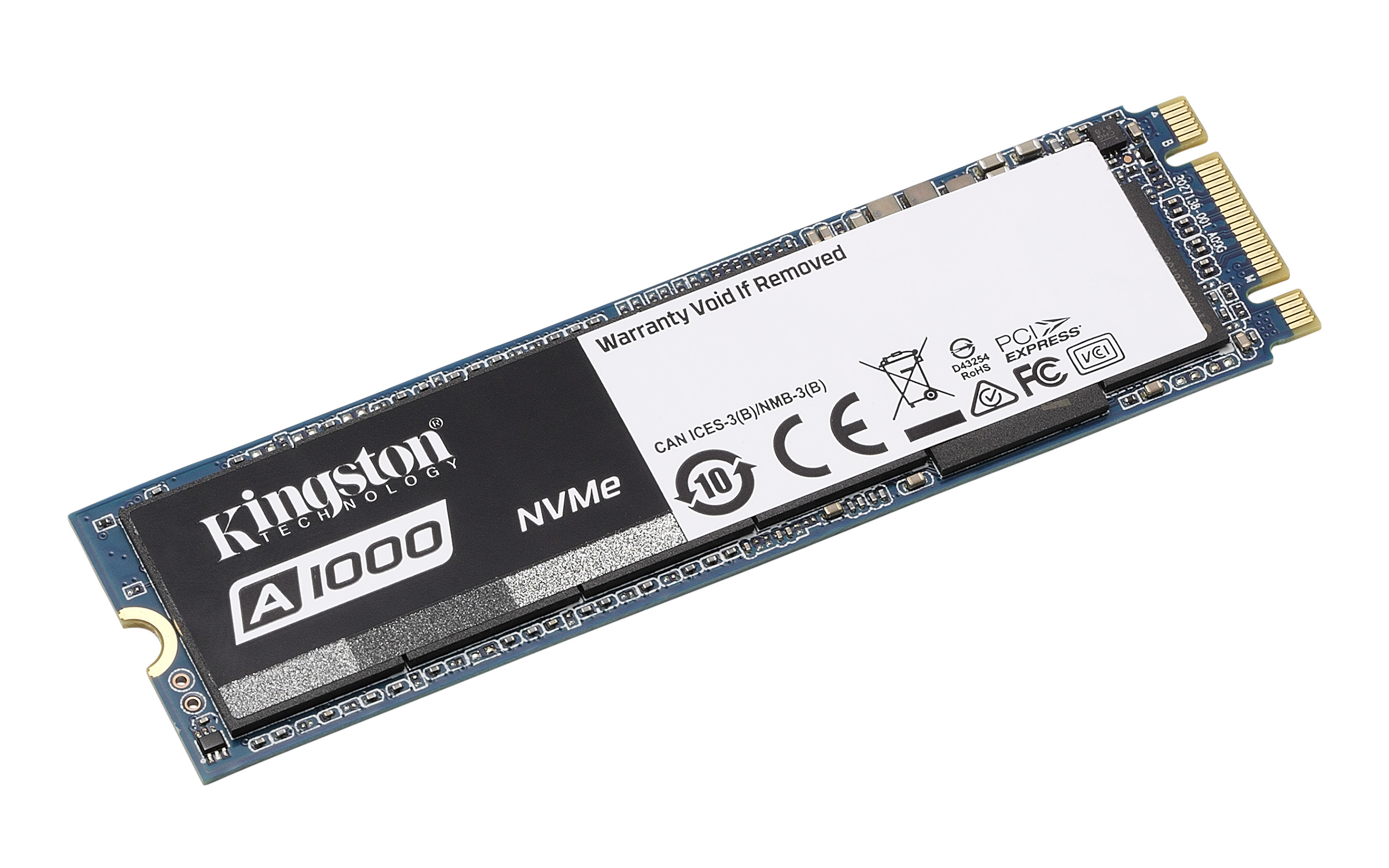 Ổ cứng SSD Kingston A1000 240GB NVMe M.2 PCIe (SA1000M8/240G)