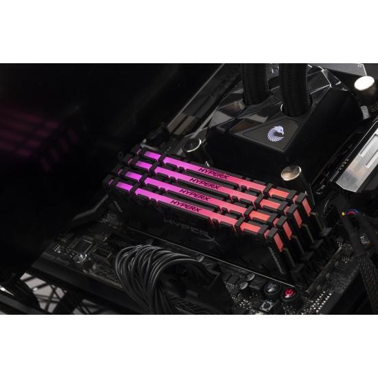 Ram Kingston HyperX Predator RGB 8GB DDR4 2933MHz CL15 DIMM XMP (HX429C15PB3A/8)
