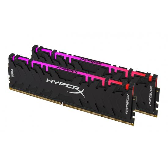 Ram Kingston HyperX Predator RGB 16GB (2x8GB) DDR4 2933MHz CL15 DIMM XMP (HX429C15PB3AK2/16)
