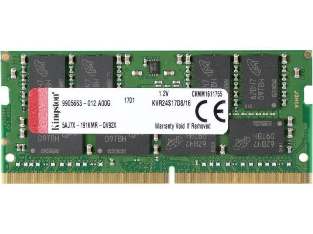 Ram laptop Kingston 16GB bus 2400MHz for Notebook