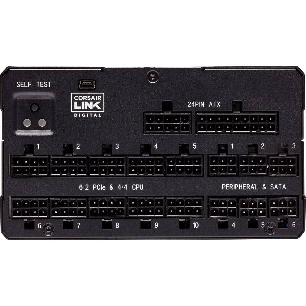 Nguồn máy tính CORSAIR AX1600i DIGITAL - 80 PLUS® Titanium