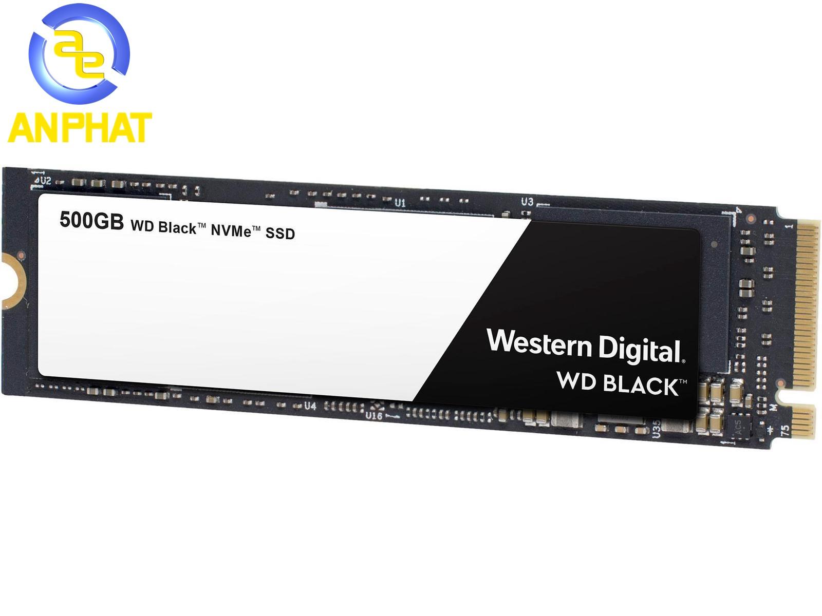 M.2 2280 8 Gb//s WD Black 500GB High-Performance NVMe PCIe Internal SSD NEW