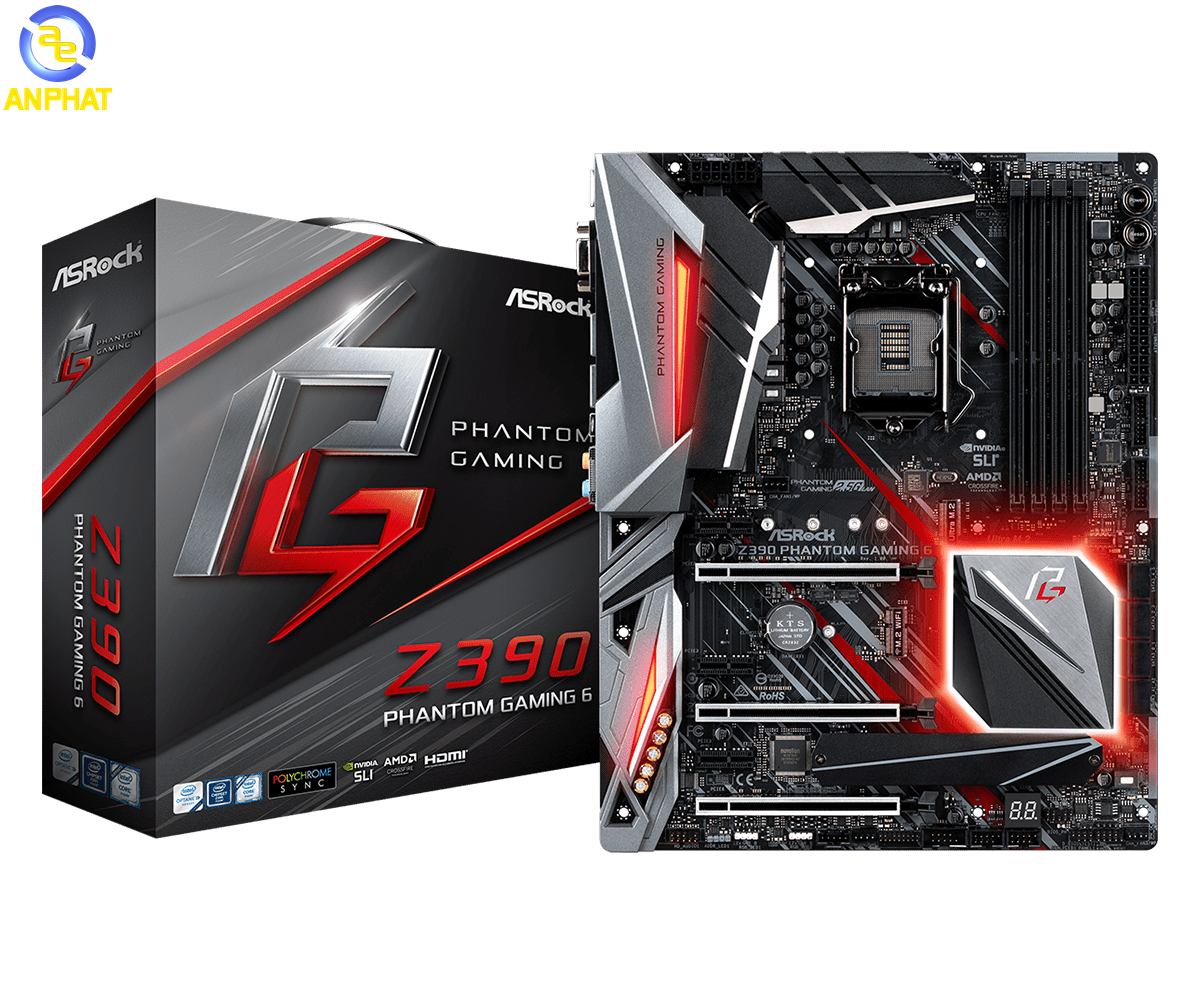 Mainboard Asrock Z390 Phantom Gaming 6