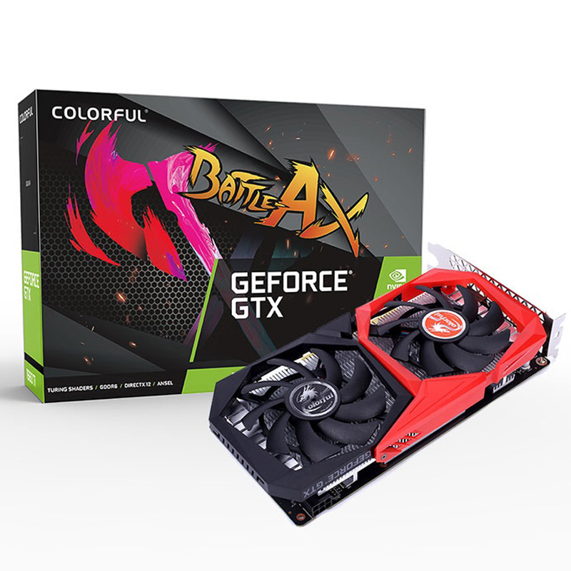 VGA Colorful GeForce GTX 1650 SUPER NB 4G-V