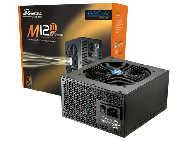 Nguồn máy tính Seasonic M12II 620w Evo Active PFC - 80Plus Bronze